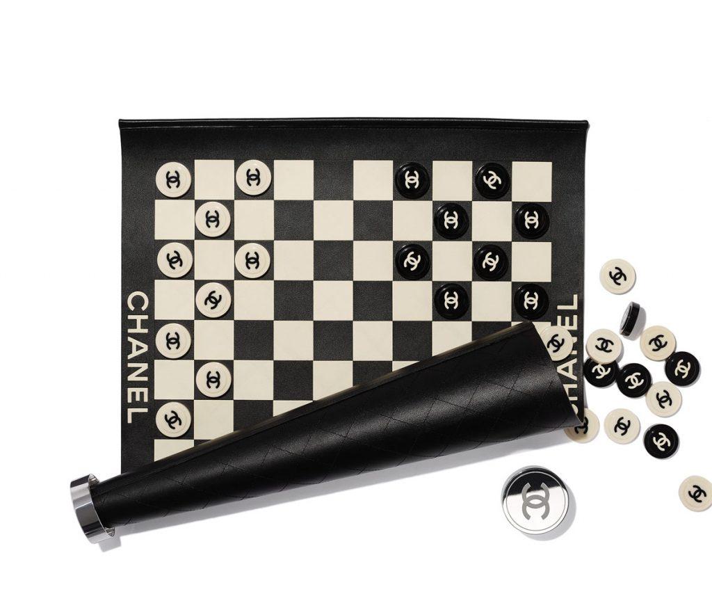 Métiers d'Art 2021 checkers ($6,200), Chanel at Saks Fifth Avenue, Naples