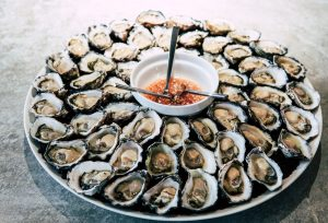 Oyster-platter