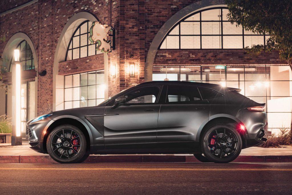 Aston Martin DBX side profile