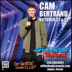 Comedian Cam Bertrand Live