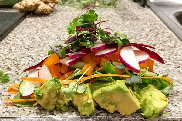 Greens-avocado