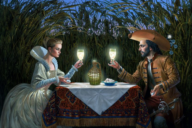A Night of Russian Fortune telling