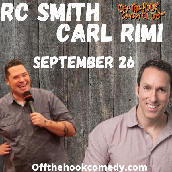 Comedian Carl Rimi