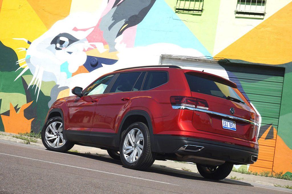 Volkswagen Atlas rear