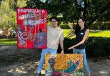 The Immokalee Foundation alumnus Jonathan Martinez and Dalina Gamez, postsecondary student specialist