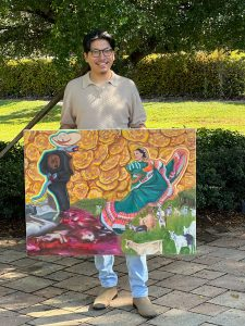 Martinez partnered with The Immokalee Foundation to create a venue to display art in his hometown.